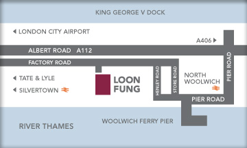 Map of Silvertown Loon Fung